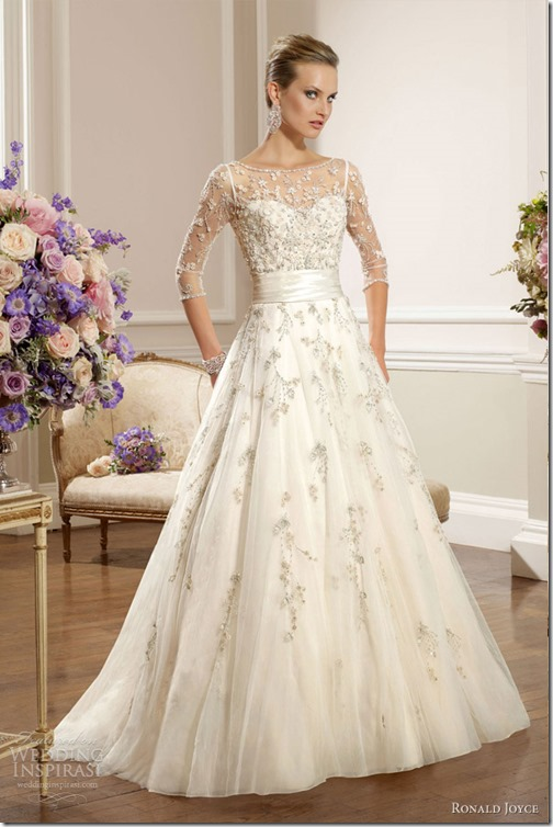 ronald-joyce-2013-wedding-dress-with-sleeves