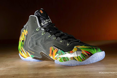 nike lebron 11 gr everglades 2 04 The Nike LeBron 11 Everglades Drops in 4 Days