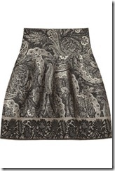 Etro Natalie wool-blend jacquard skirt