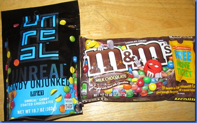UNREAL Candies vs. M&Ms taste test