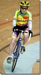Ciclista centenario Robert Marchand 2012