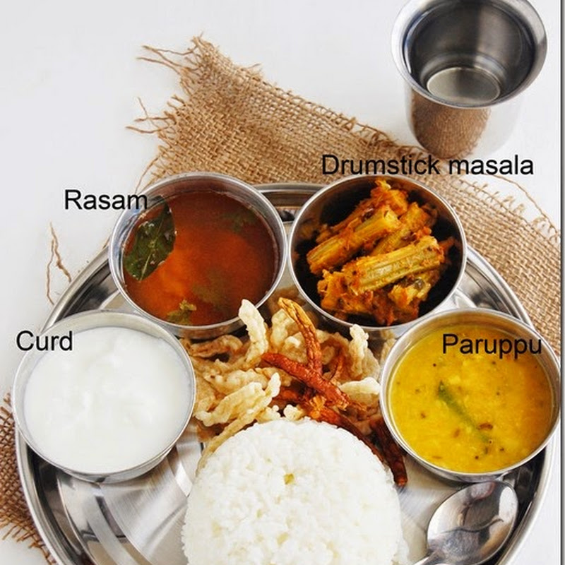7s meal series - 5 (South Indian meal)