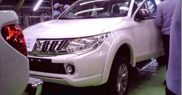 Vazam supostas imagens da nova Mitsubishi L200