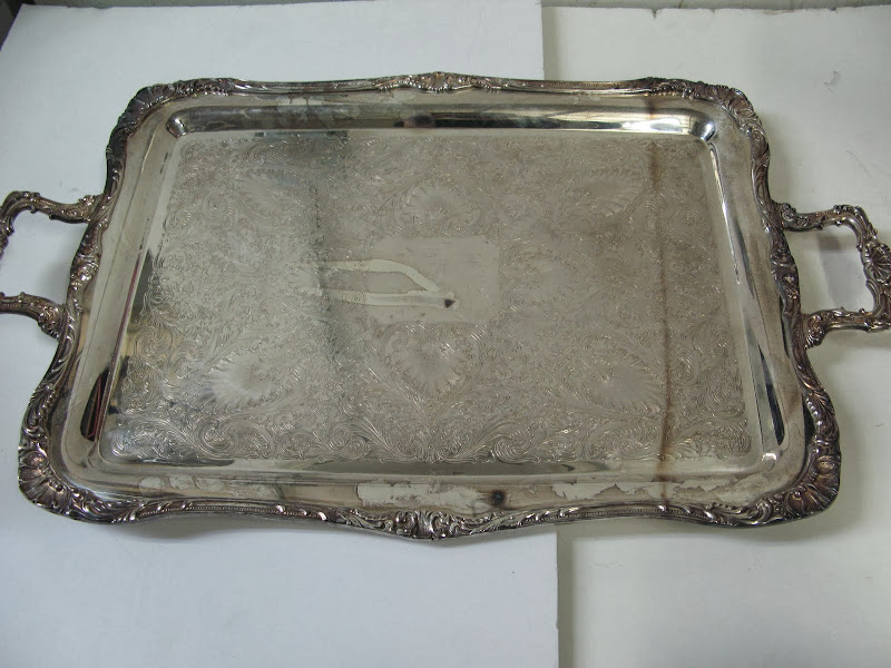WM Rogers and Son Tray