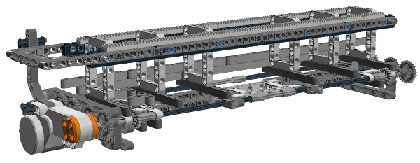 LEGO Mindstorms NXT X-Y Plotter