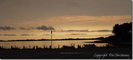 Solopgang ved Sælvig på Samsø