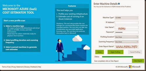 hyper v system center and azure microsoft azure iaas cost