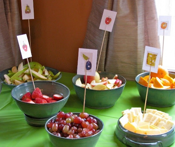 The Very Hungry Caterpillar Party Food Diy