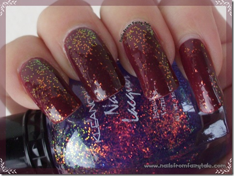kleancolor chunky holo bluebell 3
