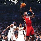 lebron james nba 130130 mia at bro 11 LeBron Torches Nets in Angry Mode. Debuts LeBron X No. 17!