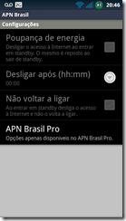 ApnBrasil-configurações
