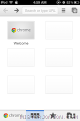 Google Chrome for iOS iPhone iPod touch iPad 4