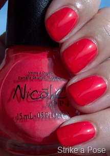 Nicole by OPI Strike a Pose