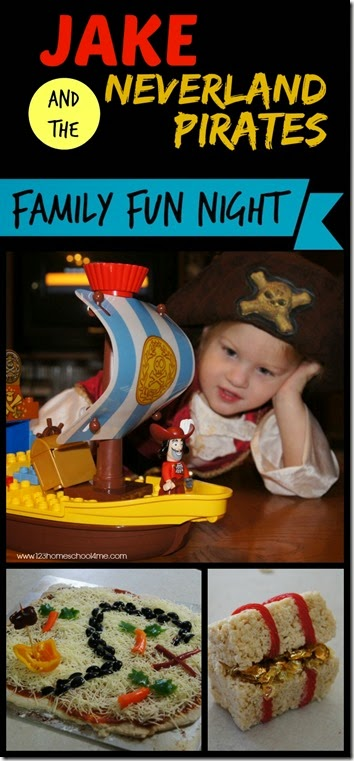Jake and the Neverland Pirates Family Fun Night