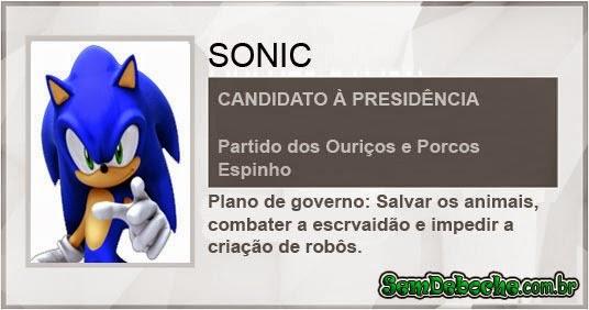 CANDIDATO: SONIC