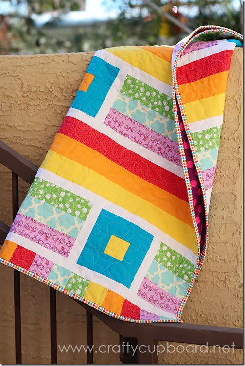 Breezy Quilt by the Crafty Cupboard