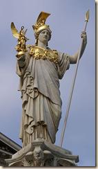 La leggenda albanese della nascita della dea Atena