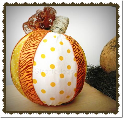 polkadot pumpkin