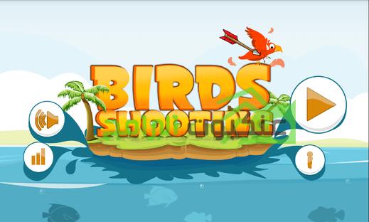 لعبة صياد الطيور Birds Hunting للأندرويد