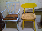 Take a look at a few of Josh's refurbished chairs (chairtastic.com).