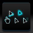 shadow cursor windows cursors