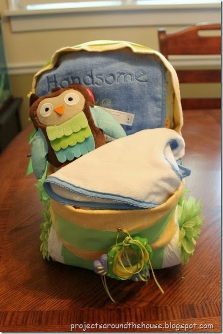 diaper cake carriage