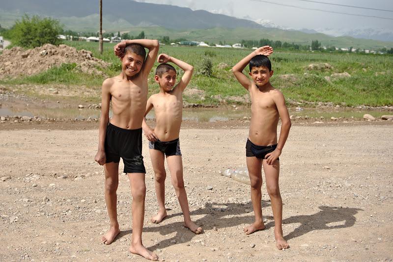 Baywatch de Tadjikistan.