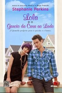 livro Lola e o Garoto da Casa ao Lado