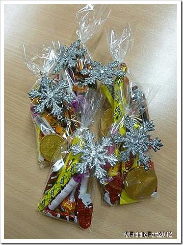 Snowflake Penny Bag