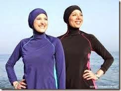 muslimah renang