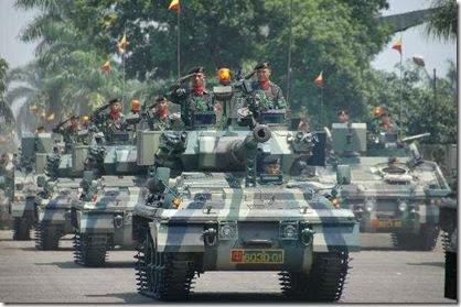 militer indonesia bangkit singapura takut