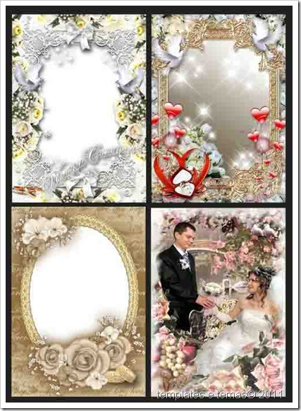 Cole Molduras Para Book Casamento Wedding