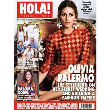 Olivia Palermo - Hola! PH Dec 2014