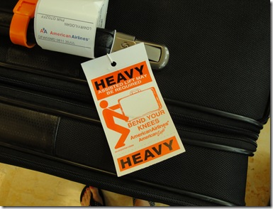 1.  Heavy Luggage