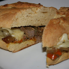 CrockPot Philly Cheesesteak Sandwiches