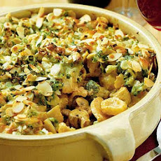 Chicken & Broccoli Pasta Bake