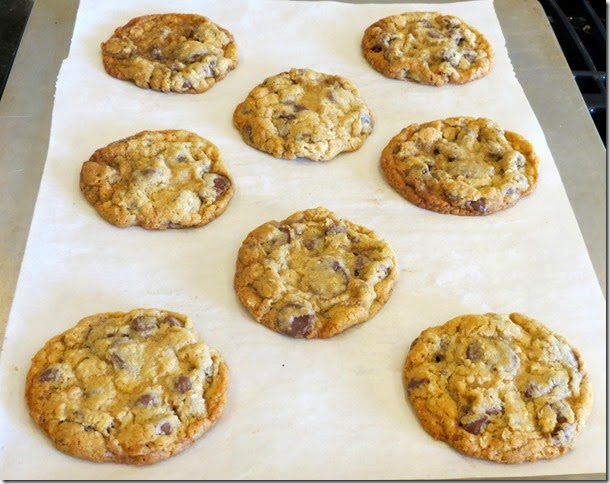 Chocolate Chip Oatmeal Cookies 2