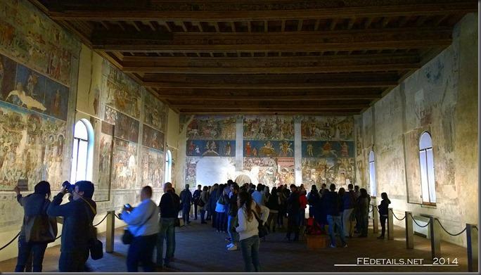 Palazzo Schifanoia, Salone dei Mesi, Ferrara, Italy, Photo1