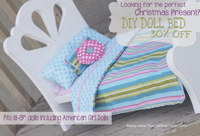 American Girl DIY Doll Bed