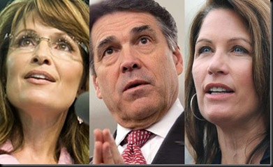 Palin Perry Bachmann
