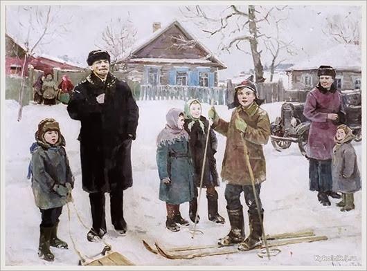 Шепетовский Виталий Яковлевич (Россия, 1927-1988) «Поездка в деревню» 1960