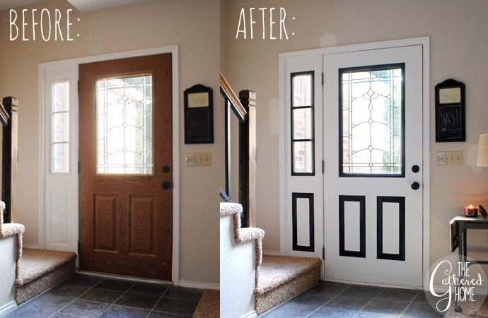 Front Door Before & After 2