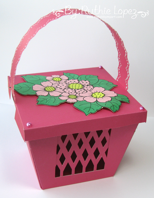 Beccy´s Place - Country Floral -Basket - Ruthie Lopez - My Hobby My Art