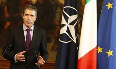 NATO's Rasmussen hopeful of Russian missile pact