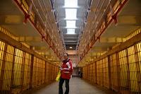 Alcatraz corridor