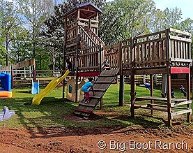 big boot ranch playground