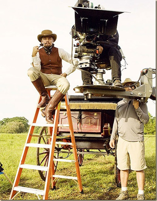 Photos étonnantes dans les coulisses de grands films (6)
