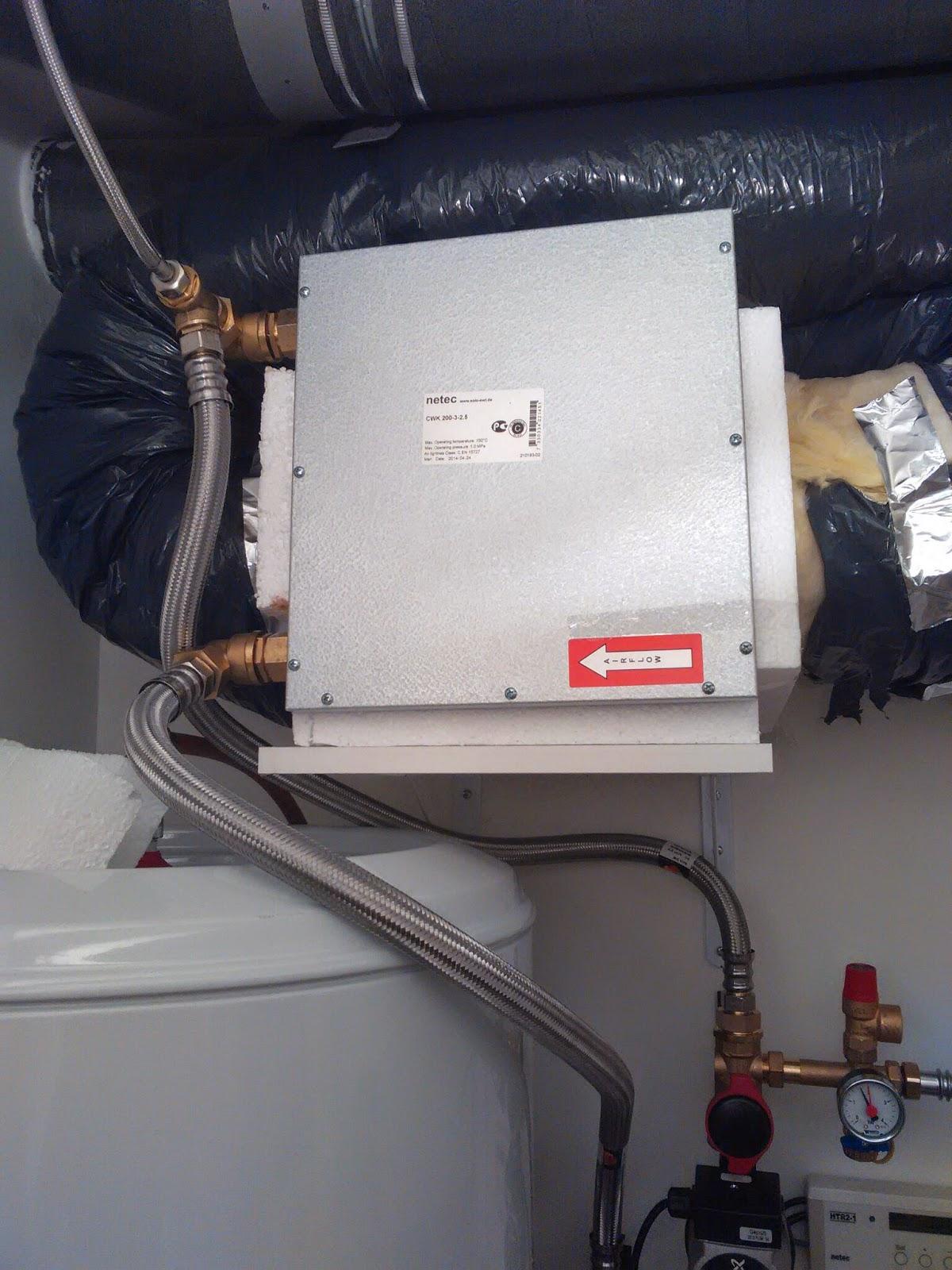 la case puits canadien hydraulique netec coupl une ideo 325 en service. Black Bedroom Furniture Sets. Home Design Ideas