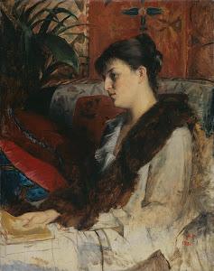 RIJKS: Marie Constantine Bashkirtseff: painting 1881