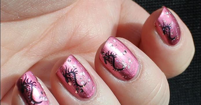 Nageldesign Geburtstags-Nail-Art Mit Drachen | Das Jahreszeitenhaus